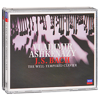 Владимир Ашкенази Vladimir Ashkenazy. J. S. Bach: The Well - Tempered Clavier (3 CD) jens luhr jens luhr kuhlau sonata in e flat major sonata in a minor