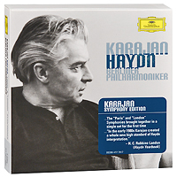 Berliner Philharmoniker,Герберт Караян Herbert Von Karajan. Haydn. Paris & London Symphonies (7 CD) bobo stenson trio serenity 2 cd