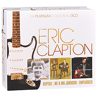 Эрик Клэптон Eric Clapton. The Platinum Collection (3 CD) festivals the collection 3 cd