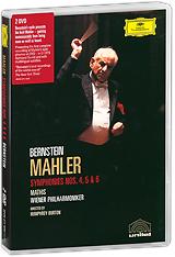 Mahler, Leonard Bernstein: Symphonies Nos. 4, 5 & 6 (2 DVD) mahler leonard bernstein symphonies nos 1 2