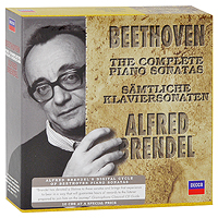 Альфред Брендель Alfred Brendel. Beethoven. The Complete Piano Sonatas (10 CD) g f piazza sonata for 2 organs in f major