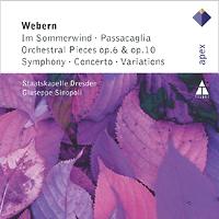 Джузеппе Синополи,Staatskapelle Dresden Orchestra Giuseppe Sinopoli. Webern. Im Sommerwind / Passacaglia / Orchestral Pieces, etc. недорого