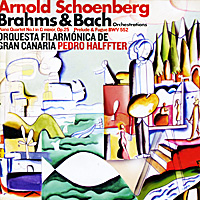 Арнольд Шоенберг,Педро Халффтер,Schoenberg Orchestral Transcriptions,Orquesta Filarmonica De Gran Canaria Arnold Schoenberg, Pedro Halffter. Brahms. Piano Quartet No.1 In G Minor, Op.25 / Bach. Prelude And Fugue In E Flat Major, BWV 552 top 10 gran canaria