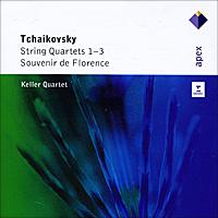 Фото - Keller Quartet Keller Quartet. Tchaikovsky. String Quartets 1-3 / Souvenir De Florence (2 CD) keller