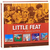 Little Feat Little Feat. Original Album Series (5 CD) original airtac compact slide cylinder roller bearing hls series hls12x100s