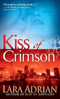 Kiss of Crimson (The Midnight Breed, Book 2)