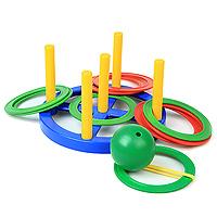 Пластмастер Игровой набор Кольцеброс Поймай шарик 2 в 140010В игровом наборе Кольцеброс Поймай шарик представлены две игры на координацию движений с простыми правилами. Набор отлично тренирует глазомер и меткость. От 3+. Столбики вставляются в пазы.