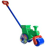 Пластмастер Игрушка-каталка Паровозик пластмастер игрушка каталка мотоцикл