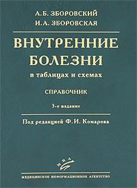 А. Б. Зборовский, И. А. Зборовская Внутренние болезни в таблицах и схемах. Справочник