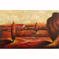 Картина-репродукция без рамки Пейзаж, 60 х 90 см 21160 квикдекор картина на холсте танцы фей и эльфов 60 см х 40 см