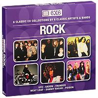UFO,Saxon,Thunder,Мит Лоуф,Сэмми Хагар,The Poison 6x6. Rock (6 CD) saxon saxon rock the nations