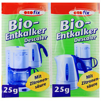 """Порошок с биодобавками для удаления накипи в приборах греющих воду """"ORO-Fix"""", 2х25 г"""