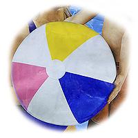 Мяч надувной Gloossy Panel Ball, 61 см хаха мяч rocking horse детский открытый фитнес игрушки музыкальные красочные надувные прыжки маккавеев толстый маленький лошадь