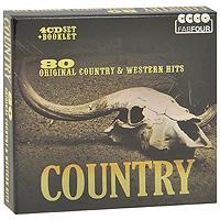 Хэнк Уильямс-старший,Хэнк Томпсон,Хэнк Сноу,Карл Смит,Джонни Кэш,Дон Гибсон,The Everly Brothers Country. 80 Original Country & Western Hits (4 CD)