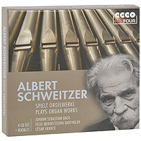 Альберт Швейцер Albert Schweitzer. Spielt Orgelwerke (4 CD) e sjоgren prelude and fugue in d minor op 39