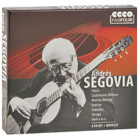 Андре Сеговия Andres Segovia. FabFour (4 CD) jens luhr jens luhr kuhlau sonata in e flat major sonata in a minor