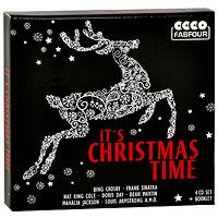 Элвис Пресли,Бренда Ли,Чак Берри,Сонни Кол,Пегги Ли,Луи Армстронг It's Christmas Time (4 CD) alloy sequins santa christmas brooch