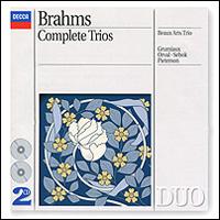 Beaux Arts Trio Brahms. Complete Trios. Beaux Arts Trio (2 CD) beaux arts trio the grumiaux trio beaux arts trio grumiaux trio schubert complete trios 2 cd