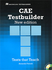 CAE Testbuilder: Tests that Teach: Without Key (+ 2 CD-ROM) cae practice tests plus 2 cd rom