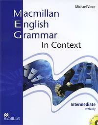 Фото - Macmillan English Grammar in Context With Key: Intermediate Level (+ CD-ROM) macmillan english grammar in context essential level with key cd rom