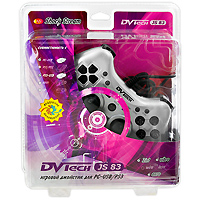 Джойстик PC/PS3 DVTech JS83 Shock Stream цена