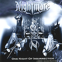 Nightmare Nightmare. One Night Of Insurrection (CD + DVD) nightmare nightmare one night of insurrection cd dvd