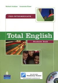 Total English: Pre-Intermediate: Students' Book (+ DVD-ROM) total english pre int workbook cd rom