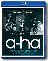 A-Ha: Ending On A High Note - The Final Concert (Blu-ray) butterfly embroidered high low dress