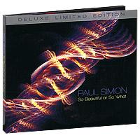 Фото - Пол Саймон Paul Simon. So Beautiful Or So What. Deluxe Limited Edition (CD + DVD) beautiful women style eyebrow tweezers color assorted