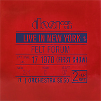 The Doors The Doors. Live In New York (2 LP) the doors the doors live in boston 1970 3 cd