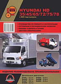Hyundai HD35/45/65 /72/75/78 с 2003 г. Руководство по ремонту и эксплуатации