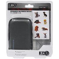 лучшая цена Чехол EVA с наклейками для приставки DS Lite (черный)