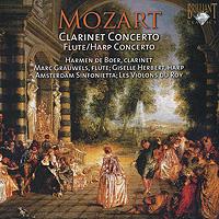Хармен де Бур,Sinfonietta Amsterdam,Лев Маркиз,Марк Грэйвелс Mozart. Clarinet Concerto. Flute / Harp Concerto