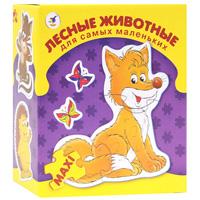 Лесные животные. Пазл, 33 элемента пазл 3 элемента дрофа для самых маленьких любимые игрушки 1090