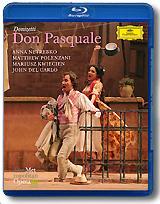 Anna Netrebko: Donizetti: Don Pasquale (Blu-ray) цена