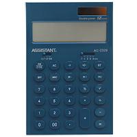 Фото - Калькулятор Assistant AC-2329, 12-разрядный, цвет: морской волны калькулятор настольный assistant ac 2488 14 разрядный ac 2488