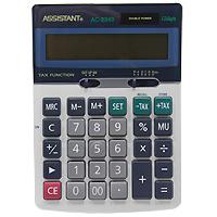 Фото - Калькулятор Assistant AC-2340, 12-разрядный калькулятор настольный assistant ac 2488 14 разрядный ac 2488