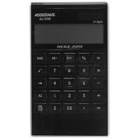 Фото - Калькулятор Assistant AC-2326, 12-разрядный, цвет: черный калькулятор настольный assistant ac 2488 14 разрядный ac 2488