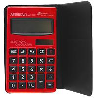 Калькулятор Assistant AC-1121, 8-разрядный калькулятор canon as 888