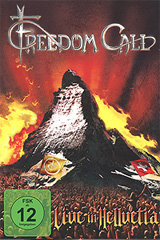 Freedom Call: Live In Hellvetia (2 DVD) freedom freedom black on white lp