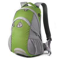 Рюкзак городской KingCamp Moon 30L, цвет: зеленый, серый рюкзак городской kingcamp peach 28l цвет красный серый