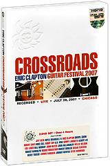 цена на Eric Clapton: Crossroads Guitar Festival 2007 (2 DVD)