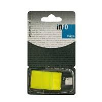 """Закладки самоклеящиеся """"Info"""", цвет: желтый, 50 шт"""
