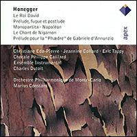 Honegger. Le Roi David / Monopartita / Le Chant De Nigamon, Etc. (2 CD) rdr cd [juniors] le souvenir degypte