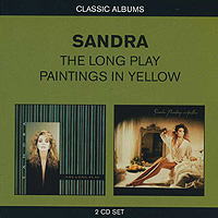 Сандра Sandra. The Long Play / Paintings In Yellow (2 CD) yellow v neck long sleeves crossed front design sweater