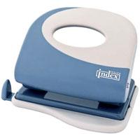 Дырокол Index Fusion, цвет: серо-голубой, белый. IFP705 цена