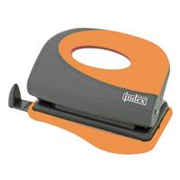 Дырокол Index Fusion, цвет: серый, оранжевый. IFP700 цена