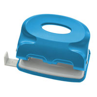Дырокол Index Colourplay, цвет: неоновый синий. ICP115 дырокол index colourplay на 10 листов пластиковый корпус неоновый зелёный icp110 gn