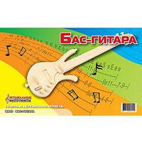 Сборная деревянная модель Бас-гитара гитара классическая деревянная 76см