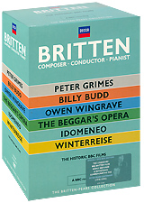 Britten: Composer / Conductor / Pianist (7 DVD) benjamin britten conducts britten 7 cd